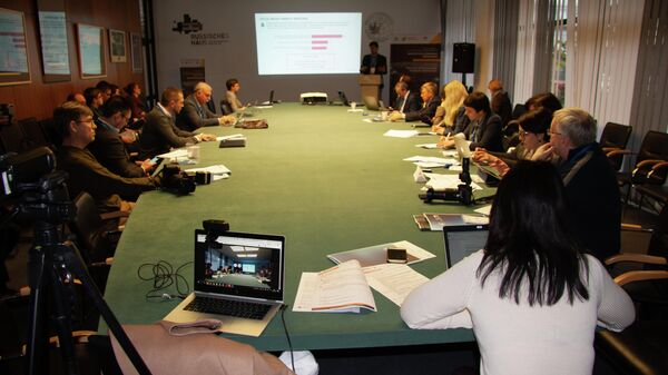 Международная межуниверситетская конференция Экосистема цифровой экономики в Берлине.