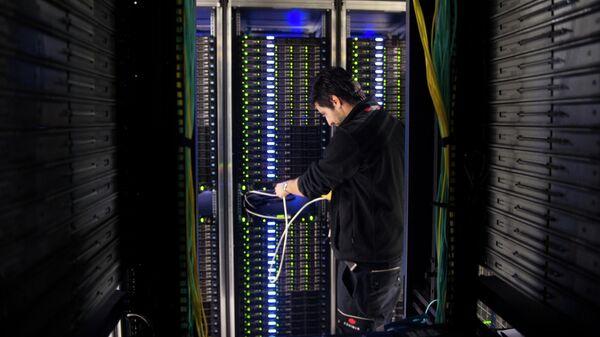 Работа сотрудника дата-центра