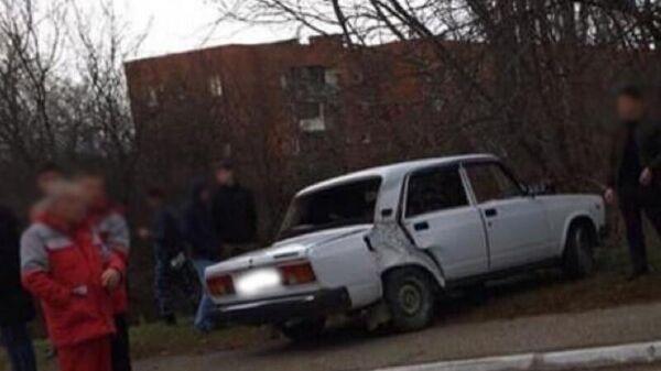 В Майкопе  автомобиль наехал на четверых подростков. 3 декабря 2019