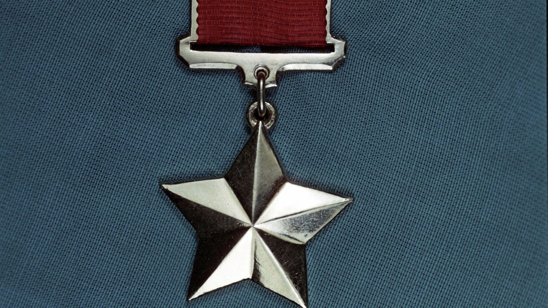 Медаль Золотая Звезда Героя Советского Союза - РИА Новости, 1920, 10.02.2021