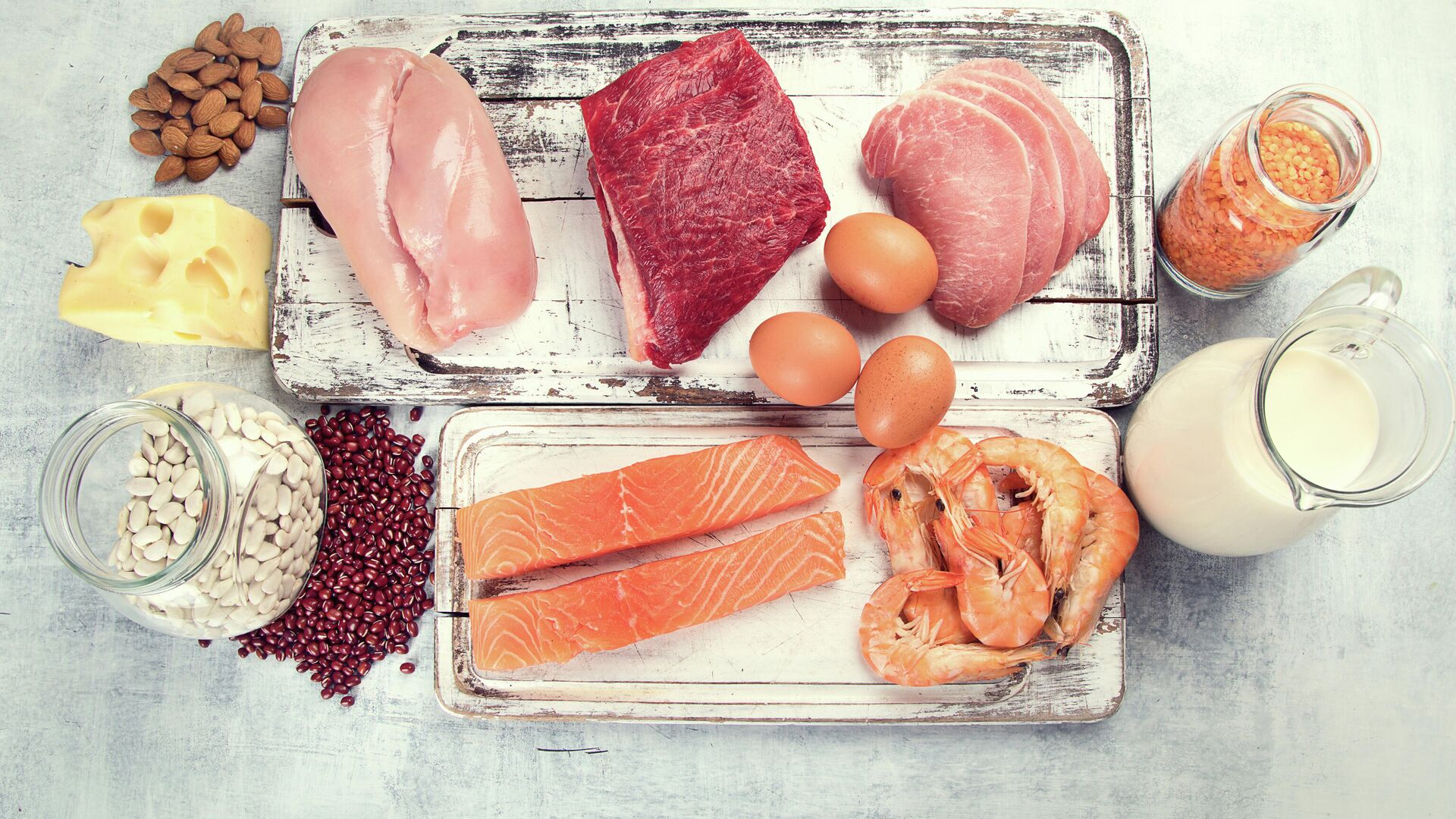 Еда с высоким содержанием белка - РИА Новости, 1920, 21.01.2021