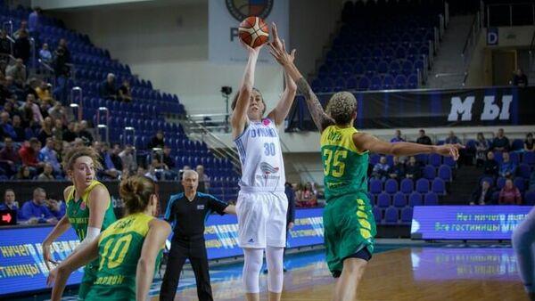 Баскетболистка курского Динамо