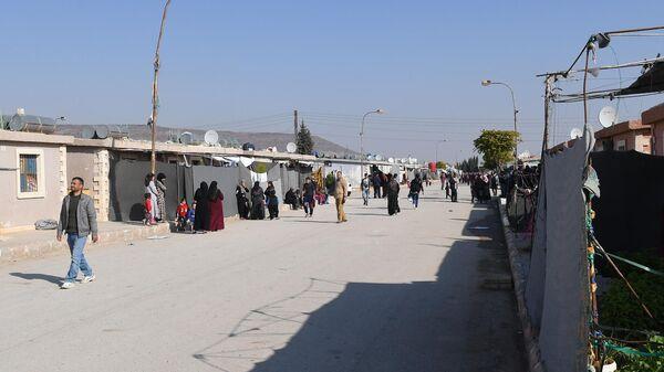 Лагерь беженцев Хирджилла вблизи Дамаска