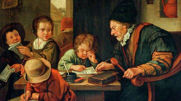 Ян Стен. Школьный учитель. 1668