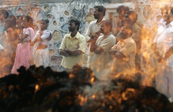 Похороны погибших во время теракта в Мумбаи