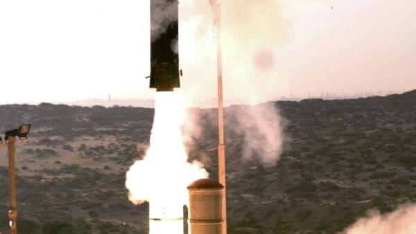 Испытательный запуск израильской ракеты