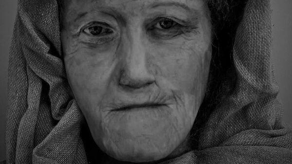 Цифровая модель Хильды — женщины-друида