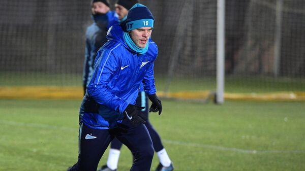 Игрок ФК Зенит Александр Кокорин