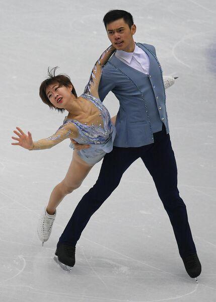 Фигурное катание. Пэн Чэн и Ян Цзинь