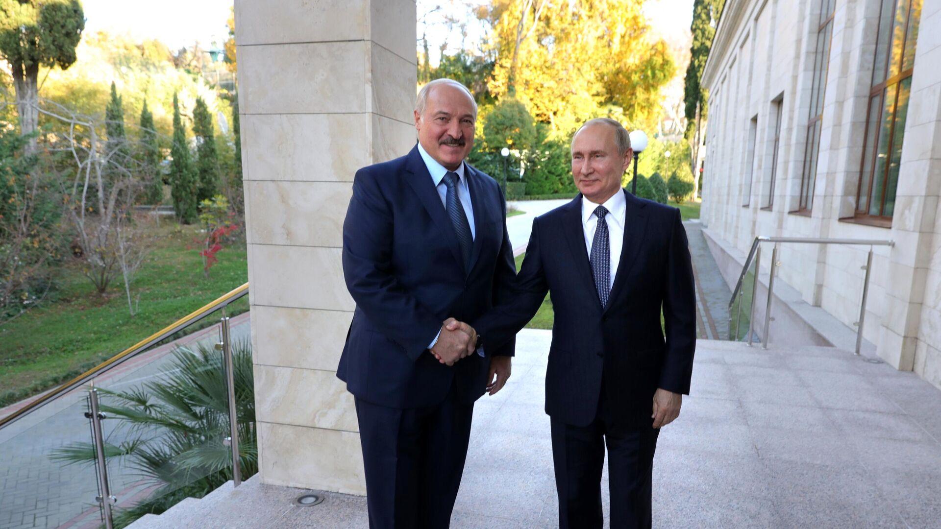 Встреча Путина и Лукашенко состоится в Сочи - РИА Новости, 11.09.2020