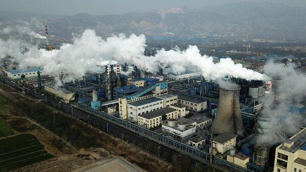 Звод по переработке угля в Хэцзине, провинция Шаньси в центральном Китае