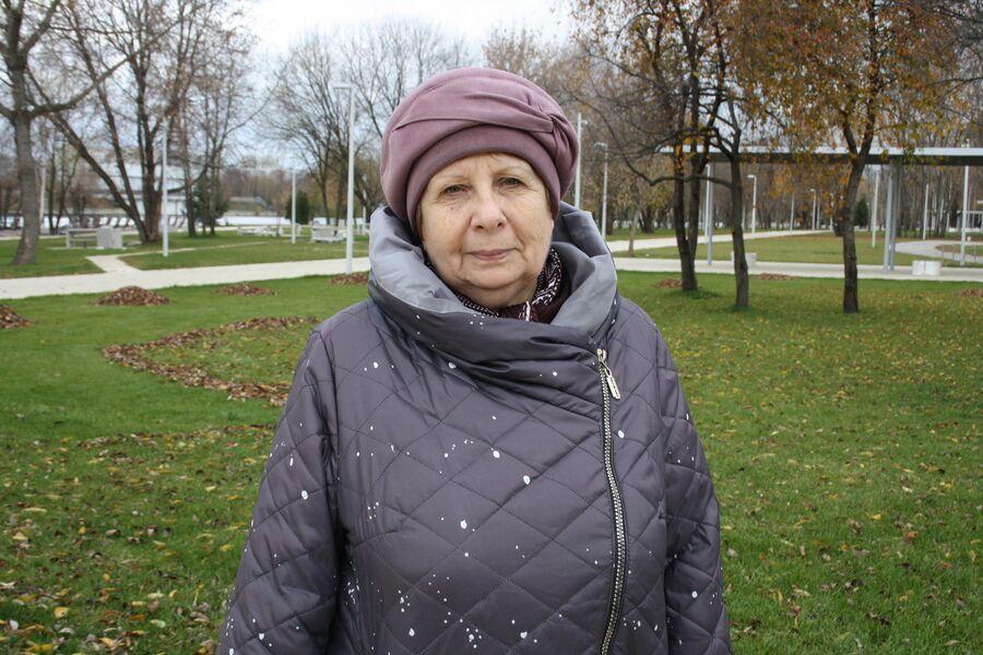 Жительница Капотни Людмила Александровна