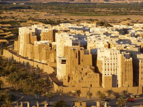Манхеттен в пустыне (Йемен)