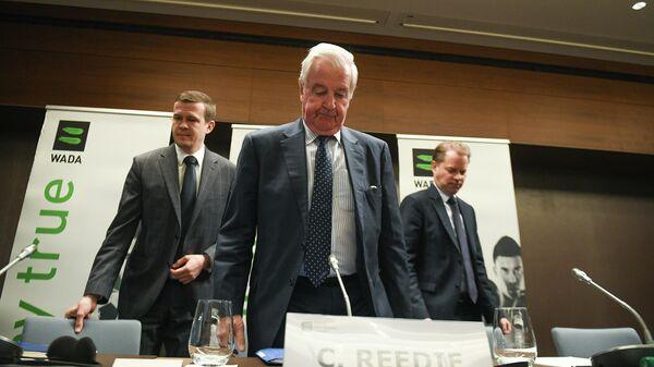 Пресс-конференция по итогам заседания исполнительного комитета Всемирного антидопингового агентства