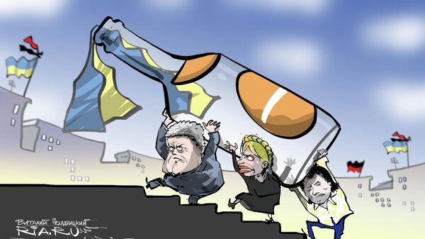 На второй Майдан
