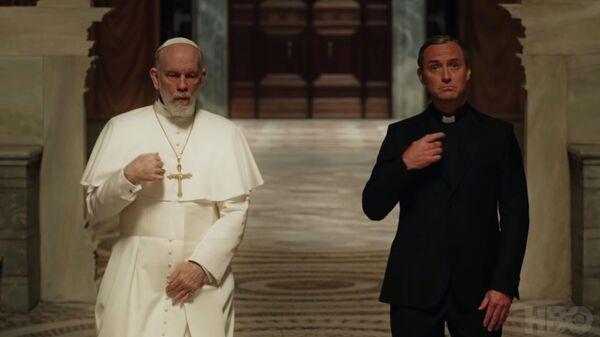 Кадр из трейлера сериала Новый папа
