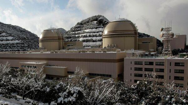 АЭС Ои на острове Хонсю, Япония