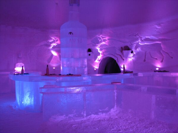 Снежный дворец Лайнио