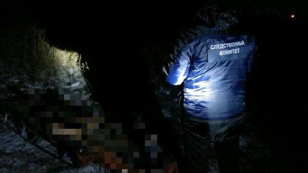 На улице Полбина города Вольска  обнаружено тело мужчины, брошенное на санках