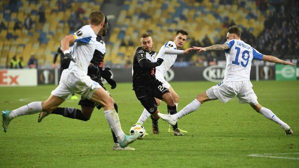 Футболисты киевского Динамо и Лугано