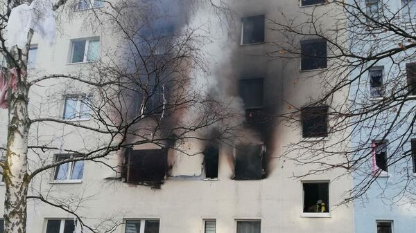Взрыв в жилом доме в Германии