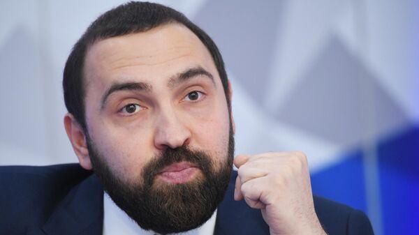 Член Общественной палаты РФ  и глава Трезвой России Султан Хамзаев