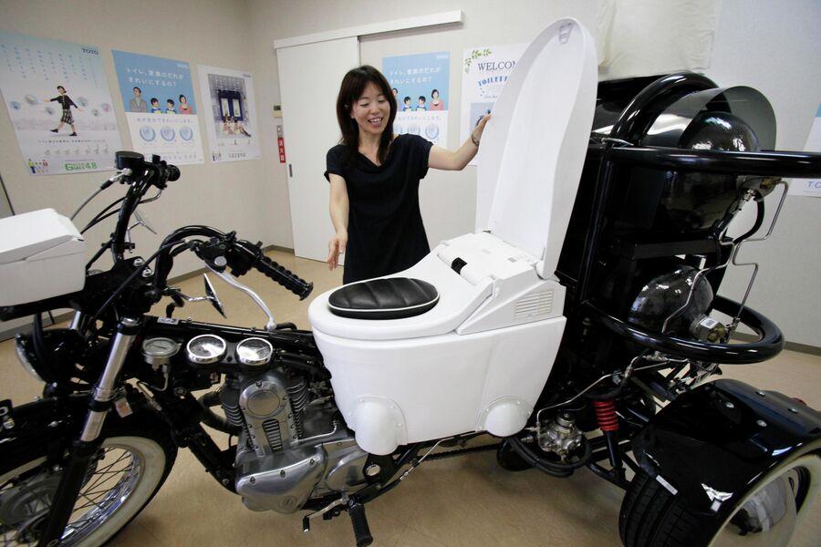 Туалет-велосипед NEO
