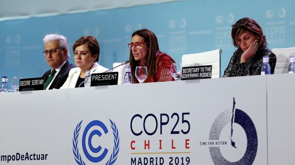 Закрытие климатической конференции COP25 в Мадриде