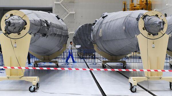 Части ракет-носителей Союз-2