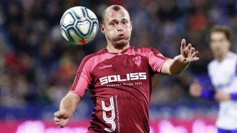 Футболист испанского Альбасете Роман Зозуля