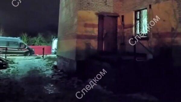 Следственные действия в деревни Химози Ленинградской области