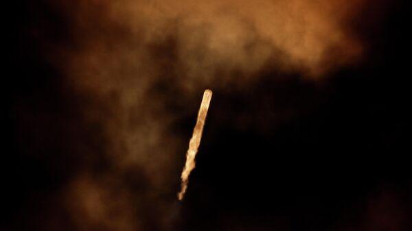 Запуск ракеты-носителя Falcon 9 со спутником связи JCSAT 18/Kacific 1 с космодрома на мысе Канаверал