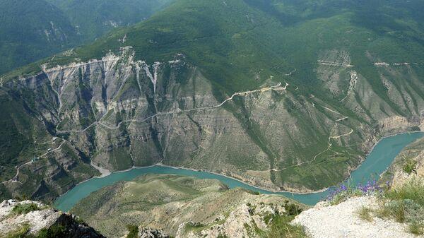 Большой Сулакский каньон в Дагестане