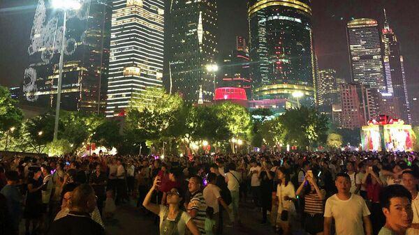Небоскребы в районе Тяньхэ