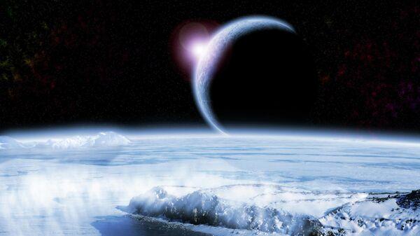 Космический снег