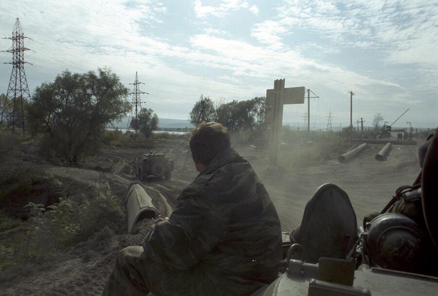 На передовой. Группировка Федеральных сил на Северном Кавказе