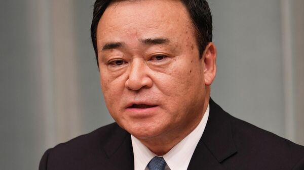 Министр экономики Японии Хироси Кадзияма