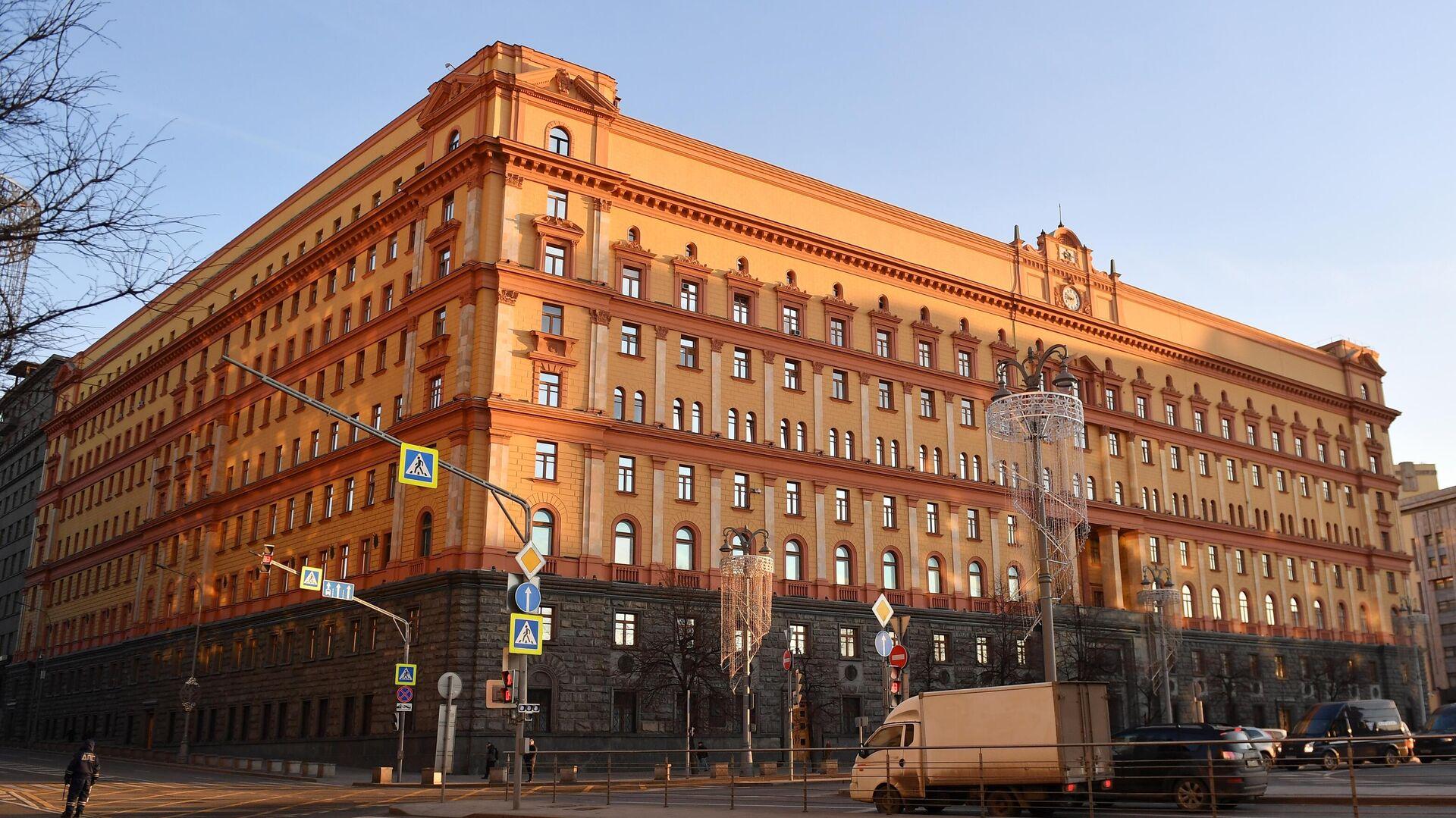 Здание ФСБ на Лубянской площади в Москве - РИА Новости, 1920, 19.02.2021