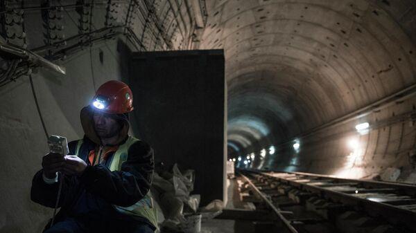 Строительство тоннеля на БАМ
