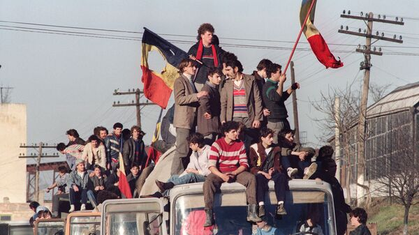 Революция в Румынии. 22 декабря 1989 года