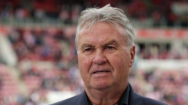 Бывший главный тренер сборной России по футболу Гус Хиддинк