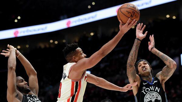Матч НБА Нью-Орлеан Пеликанс - Голден Стэйт Уорриорз