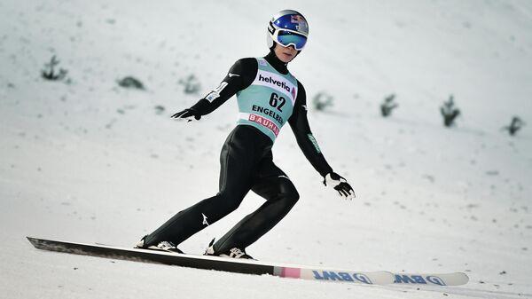 Японский летающий лыжник Рёю Кобаяси