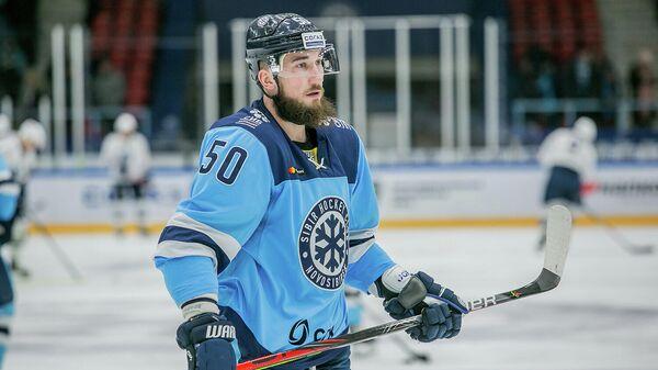 Хоккеист Сибири Владимир Первушин