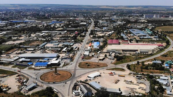 Город Черкесск в Карачаево-Черкесии