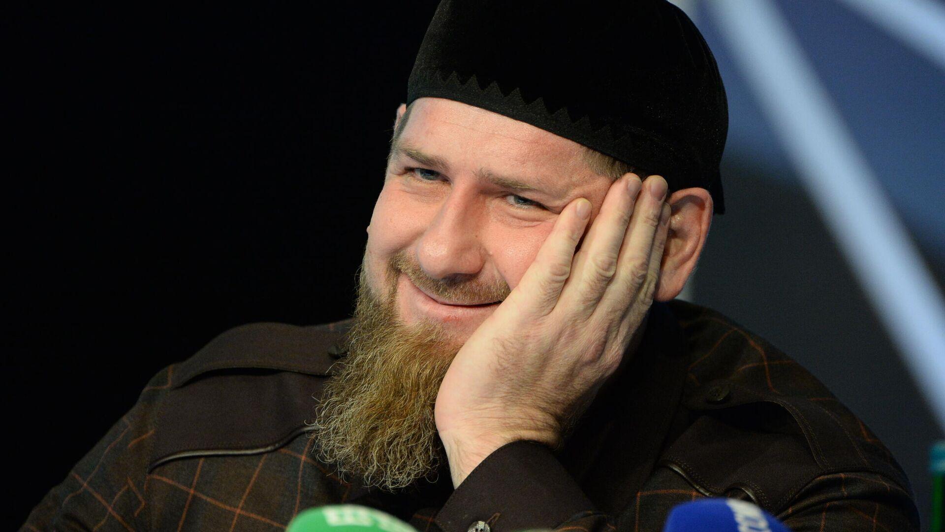 Глава Чеченской Республики Рамзан Кадыров - РИА Новости, 1920, 19.07.2021