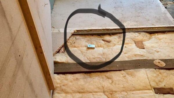Пачка сигарет, найденная во время замены старого пола
