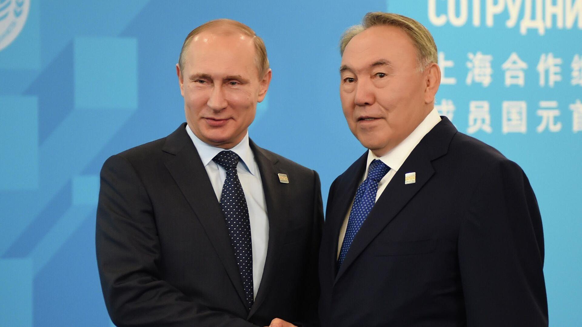 Назарбаев рассказал о доверительных и добрых отношениях с Путиным