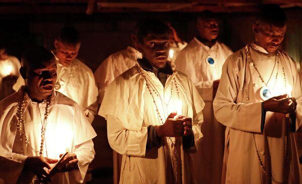 Рождественская месса в Найроби, Кения