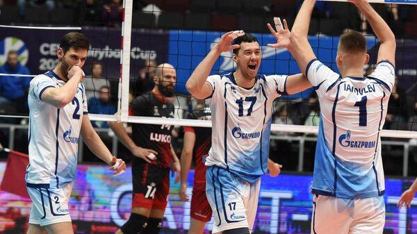Волейболисты петербургского Зенита